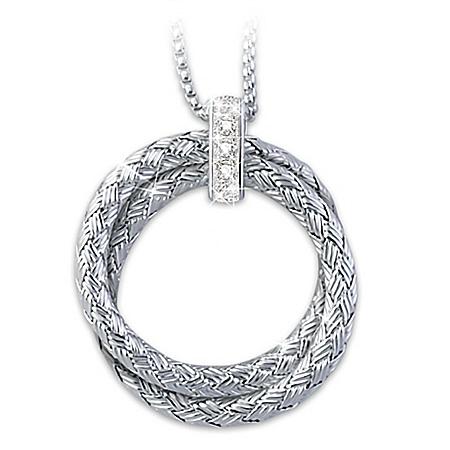 Charles Garnier Paris Love For Always Diamond Necklace