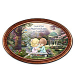 Precious Moments The Magic Of Love Personalized Collector Plate