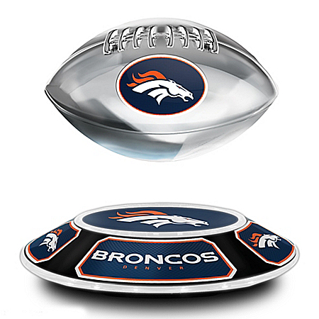 Denver Broncos NFL Levitating Football