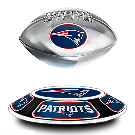 New England Patriots NFL Levitating Football