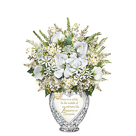 Megan Markle Wedding-Inspired Bouquet In Personalized Vase