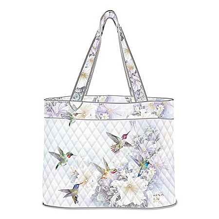 Lena Liu Garden Treasures Quilted Tote Bag