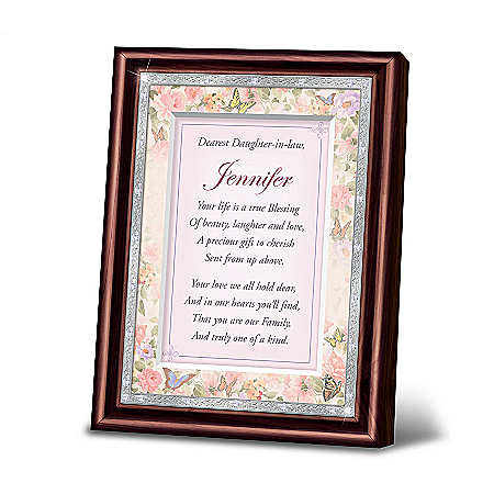 My Dearest Daughter-In-Law Personalized Framed Poem