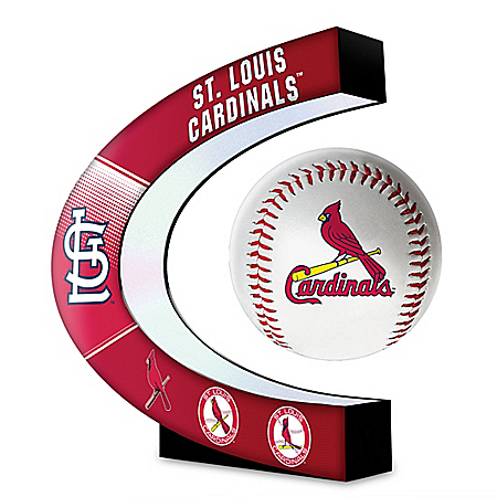 St. Louis Cardinals Levitating MLB Baseball