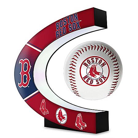 Boston Red Sox Levitating MLB Baseball