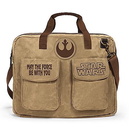 STAR WARS Rebel Alliance Men's Khaki Canvas Messenger Bag