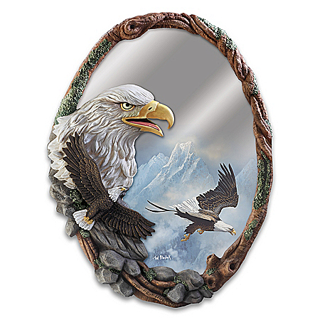 Ted Blaylock Reflections Of Majesty Sculpted Wall Mirror