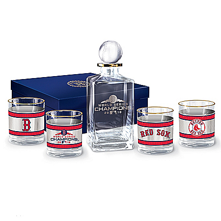 Red Sox 2018 World Series Champions Decanter Set