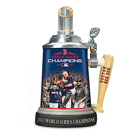 Boston Red Sox 2018 MLB World Series Champions Porcelain Stein