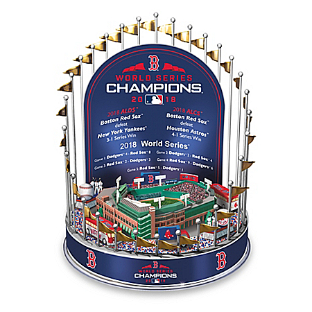 Boston Red Sox 2018 MLB World Series Champions Musical Carousel
