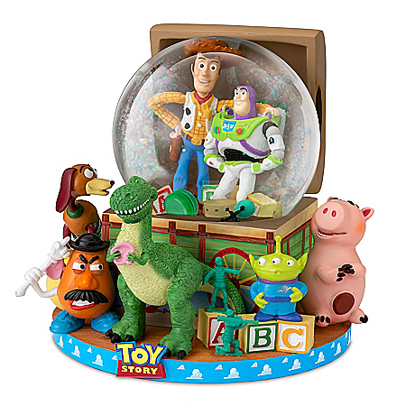 Disney·Pixar Toy Story Musical Glitter Globe