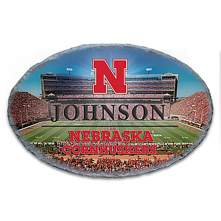 University Of Nebraska Cornhuskers Personalized Outdoor Welcome Sign