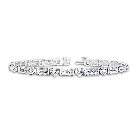 My Precious Family Women's Personalized Diamonesk Bracelet – Personalized Jewelry