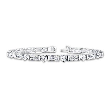 My Precious Family Women's Personalized Diamonesk Bracelet – Personalized Jewelry