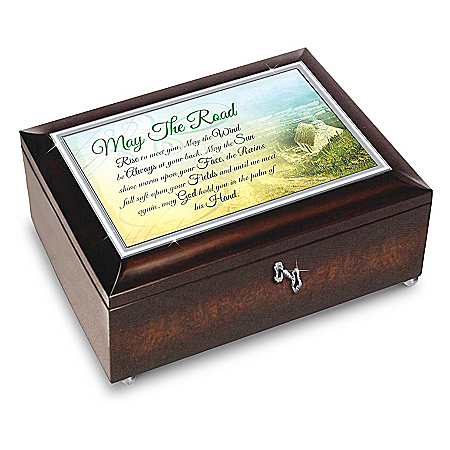 Edmund Sullivan Irish Blessings Heirloom Music Box