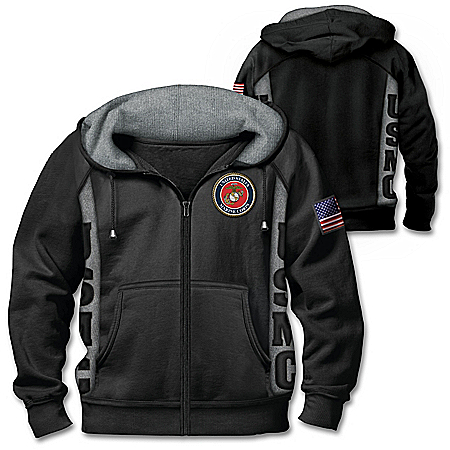 True To The Corps Men's Hoodie