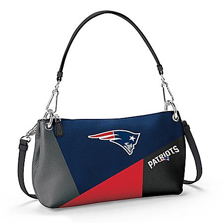 New England Patriots Women's NFL Convertible Handbag