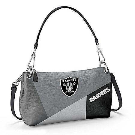 Las Vegas Raiders Women's NFL Convertible Handbag
