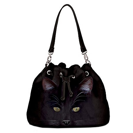 MystiCool Cat Women's Cat-Themed Fleece Handbag