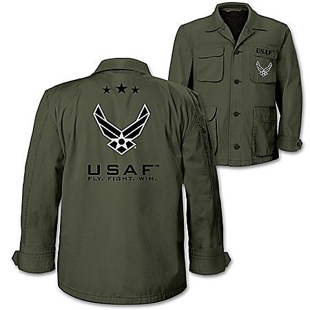 U.S. Air Force Men's Olive Lightweight Twill Field Jacket