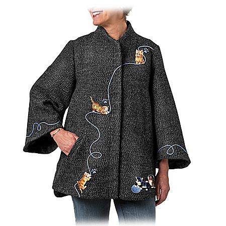 Kitten Cute Women's Jacket