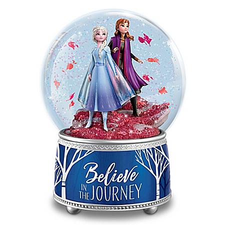 Disney FROZEN 2 Believe In The Journey Glitter Globe