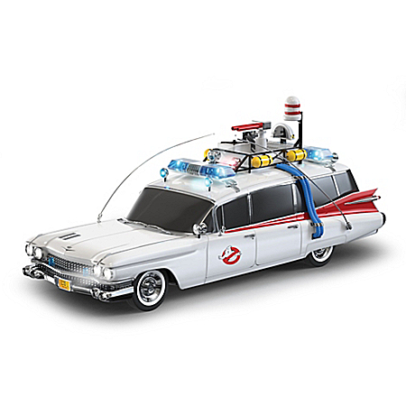 Ghostbusters Ecto-1 Car Sculpture With Lights And Music