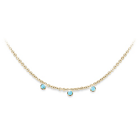 Meghan Markle Royal Baby Debut-Inspired Turquoise Necklace
