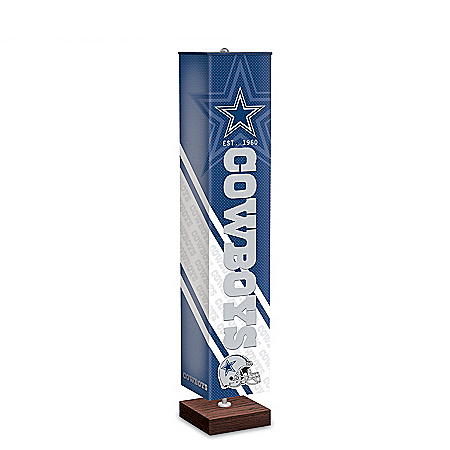 NFL Team Floor Lamp With Foot Pedal Switch