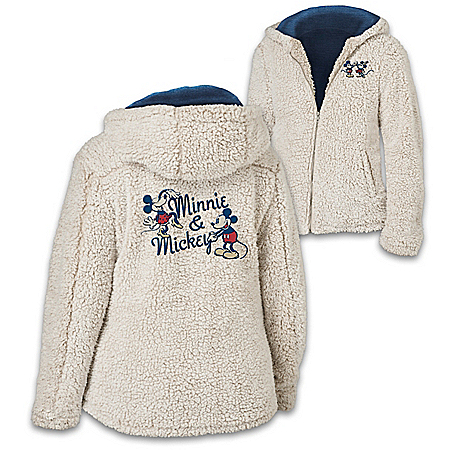 Disney Cuddled With Love Women's Lightweight Sherpa Jacket