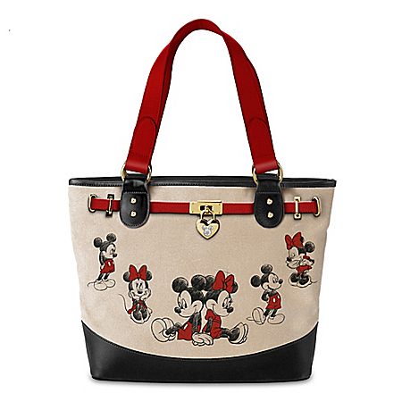 Disney Sketchbook Canvas Tote Bag