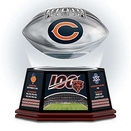 Bears Commemorative 100th Season Levitating Football