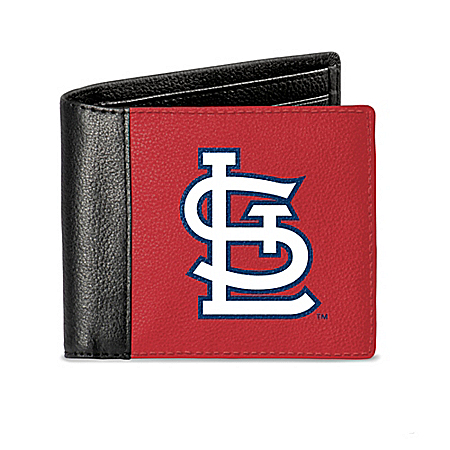 St. Louis Cardinals Men's RFID Blocking Leather Wallet