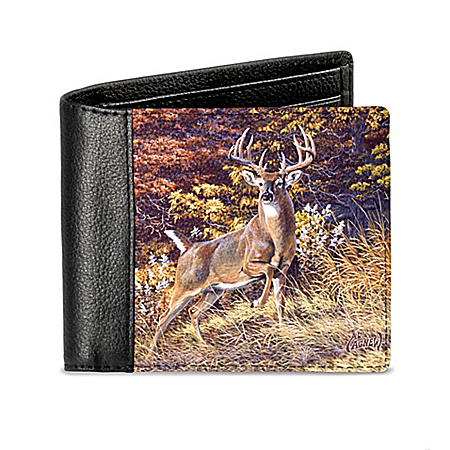 Al Agnew Mighty Buck Men's RFID Blocking Leather Wallet
