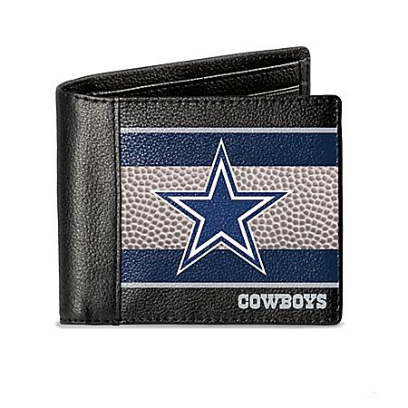 Dallas Cowboys RFID Blocking Men's Leather Wallet