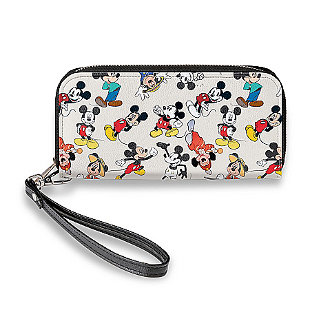 Disney Mickey Mouse Through The Years Women's Wallet