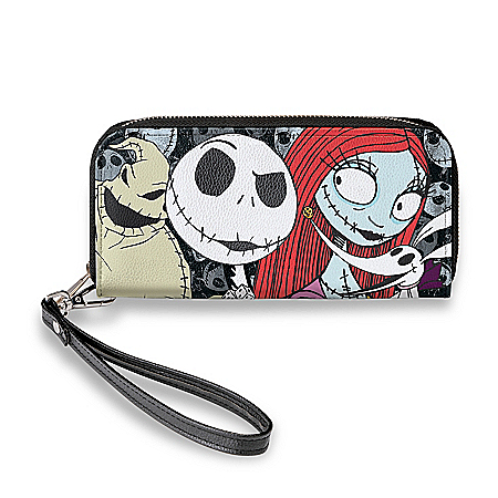 Jack And Sally Faux Leather Women's Fashion Wallet