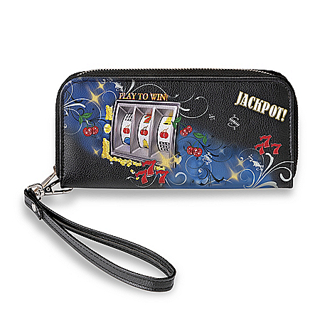 Hit The Jackpot Casino-Inspired Artistic Women's Wallet