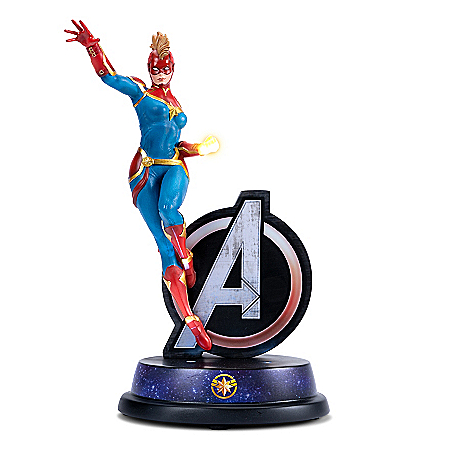 MARVEL Avengers Captain Marvel Illuminated Sculpture