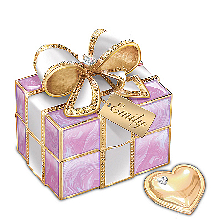 A Gift For My Granddaughter Personalized Music Box – Personalized Jewelry