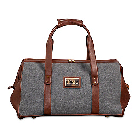 USMC Pride Widemouth Duffel With Bronze-Finish Plaque