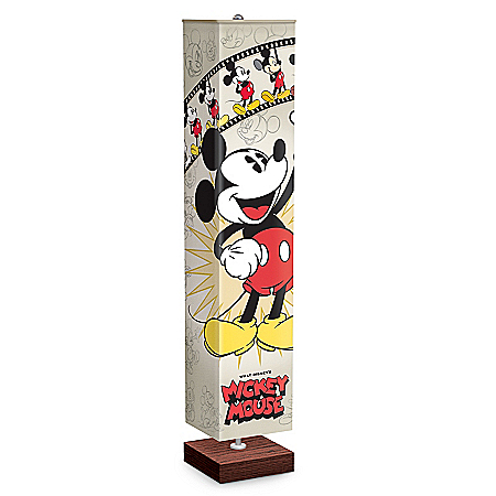"""""""Mickey Mouse Through The Years"""" Artistic Floor Lamp"""