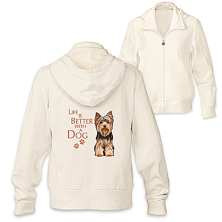 Life Is Better With A Dog Hoodie: Choose Your Dog Breed