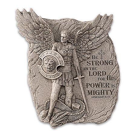 St. Michael: Defender Of Divine Glory Sculpted Wall Decor