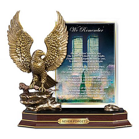 Peter Ellenshaw Never Forgotten 9/11 Tribute Sculpture