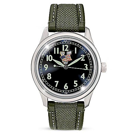 WW2 Victory Men's Watch With Glow-In-The-Dark Dial