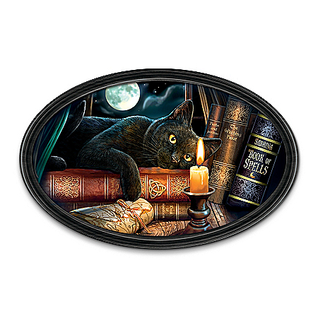 Lisa Parker The Witching Hour Personalized Collector Plate