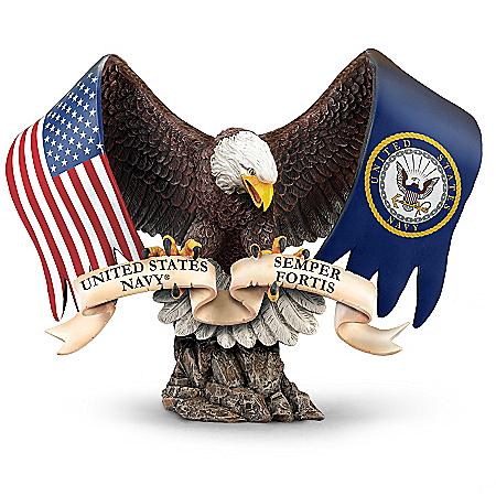 Semper Fortis U.S. Navy Sculpture Commemorates USN