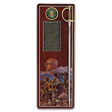 America's Heroes Army Tribute Wall Decor