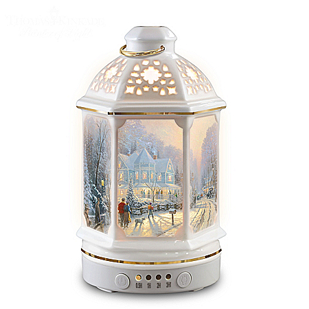 Thomas Kinkade Illuminated Christmas Lantern Diffuser